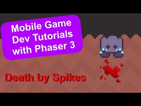 'Endless Cave' Ep. 14: Handle Player Death | Phaser 3 Game Dev Tutorial thumbnail