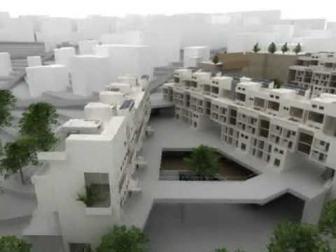 Living Culture - Passive Solar Planning Student Housing Project in Wadi Salib - Haifa, Israel