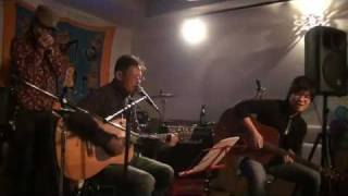 こんな楽しいセッション。。at Rainbow Studio(宝塚) ドラムとギターは...