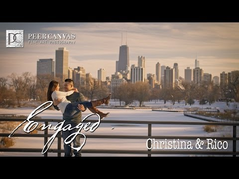 Chicago Engagement Pictures at Lincoln Park by Peer Canvas Chicago Wedding Photographer