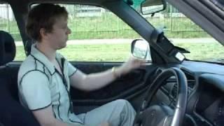 Mirror system for RHD cars. Demo installation.