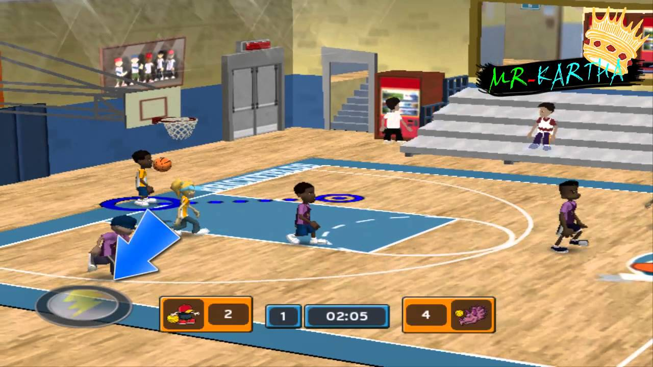 gba backyard basketball 2007 gameplay wade youtube gaming