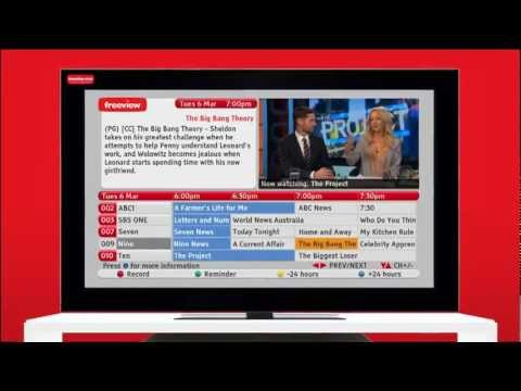 How to use The Next Generation Freeview EPG