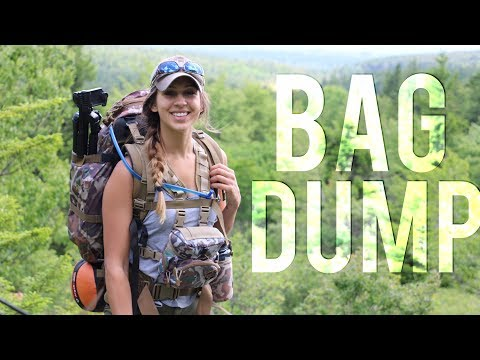 Backpacking Essentials | Bag Dump | Backcountry Camping