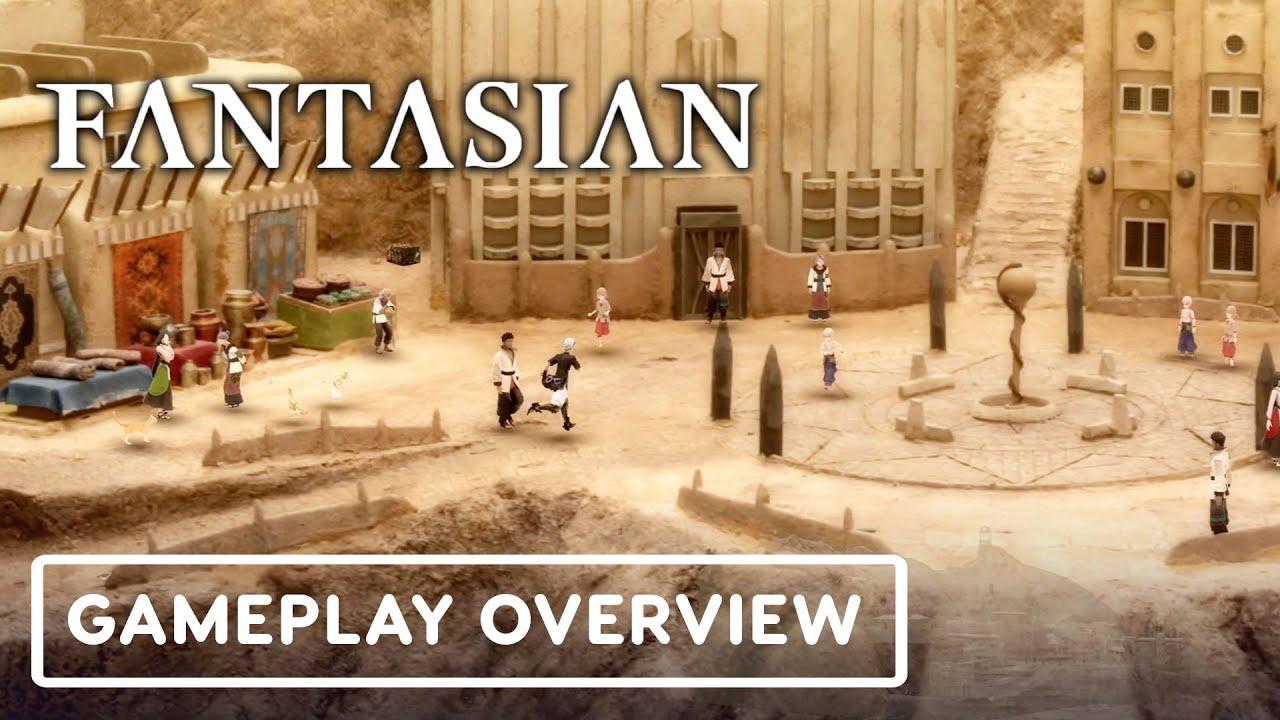 Fantasian трейлер игры