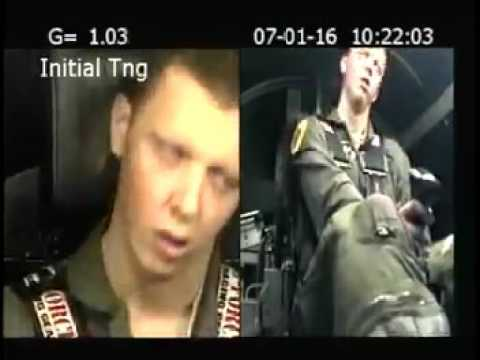 Jet Fighter Pilot training ASTRONAUT TRAINING G FORCESWh
