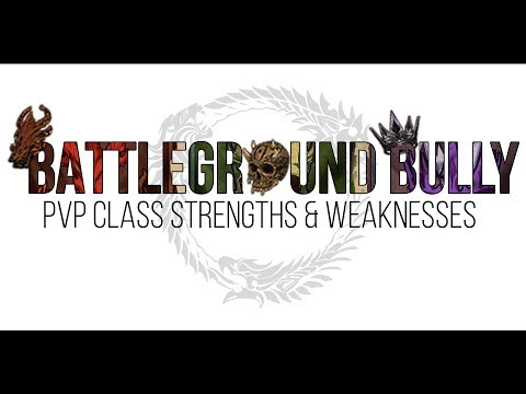 ESO PvP Class Strengths and Weaknesses