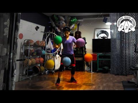 IJA Tricks of the Month by Zaila Avant-garde   Juggling Basketballs