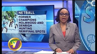 TVJ Sports News: Rural Area Netball Quarterfinals - November 21 2019