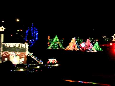 Upper Sandusky lights 2011 - YouTube