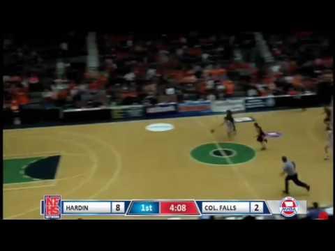 Dani Douglas basketball State Championship highlights 2017 Columbia Falls High School