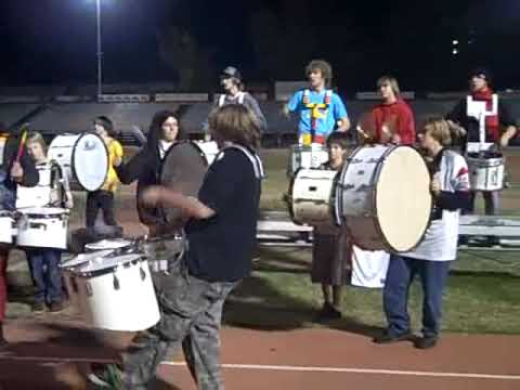 Last Game of the year for Chico High School Marching Band
