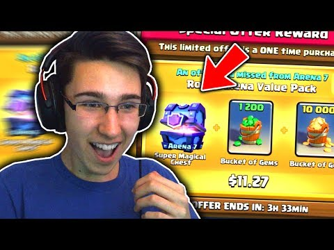 KUPUJEM SPECIAL OFFER!! SUPER MAGICAL CHEST - Clash Royale