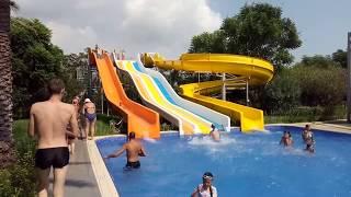 Турция 08.2018 Детские водные горки!Fantasia Hotel Deluxe Kemer 5