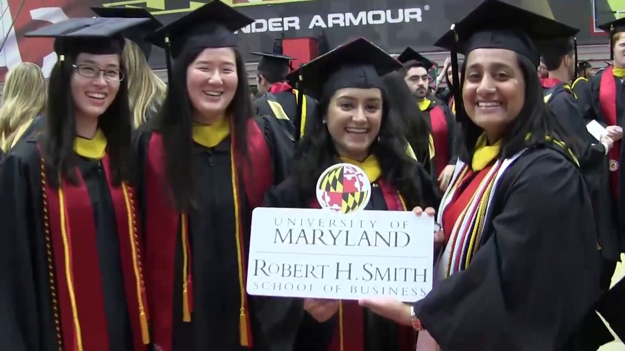 Smith School of Business Spring 2017 Commencement Highlights - YouTube