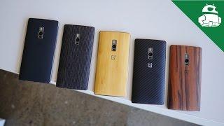 OnePlus 2 StyleSwap Cover Comparison