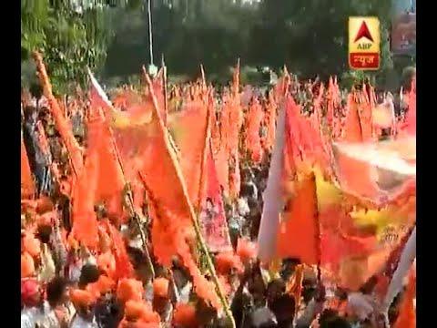 Rajput Community, VHP, Bajarang Dal and Karni Sena held joint protest against Padmavati fi