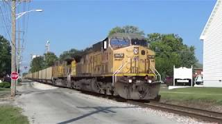 Chasing an empty Dynegy coal train on Indiana Rail Road