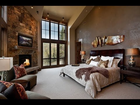 Warm and Homely Contemporary Rustic Bedroom Ideas
