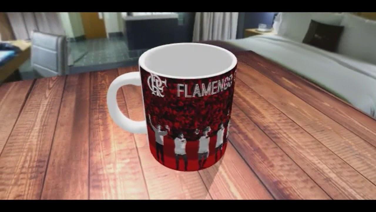 caneca de porcelana personalizada flamengo campeão do mundo 1981 ... 636bbf53ad438