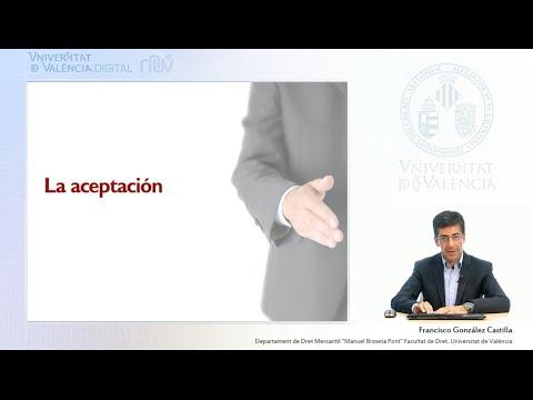 La aceptación de la letra de cambio (Lección 2. La letra de cambio. Aceptación, endoso y aval)