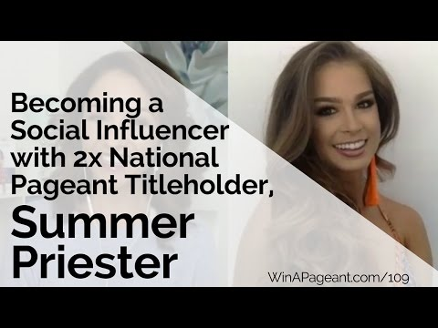 Becoming a Social Influencer with 2x National Titleholder Summer Priester (Episode 109)
