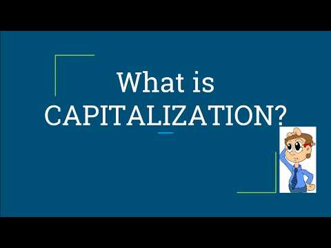 Capitalization : An Online English Lesson