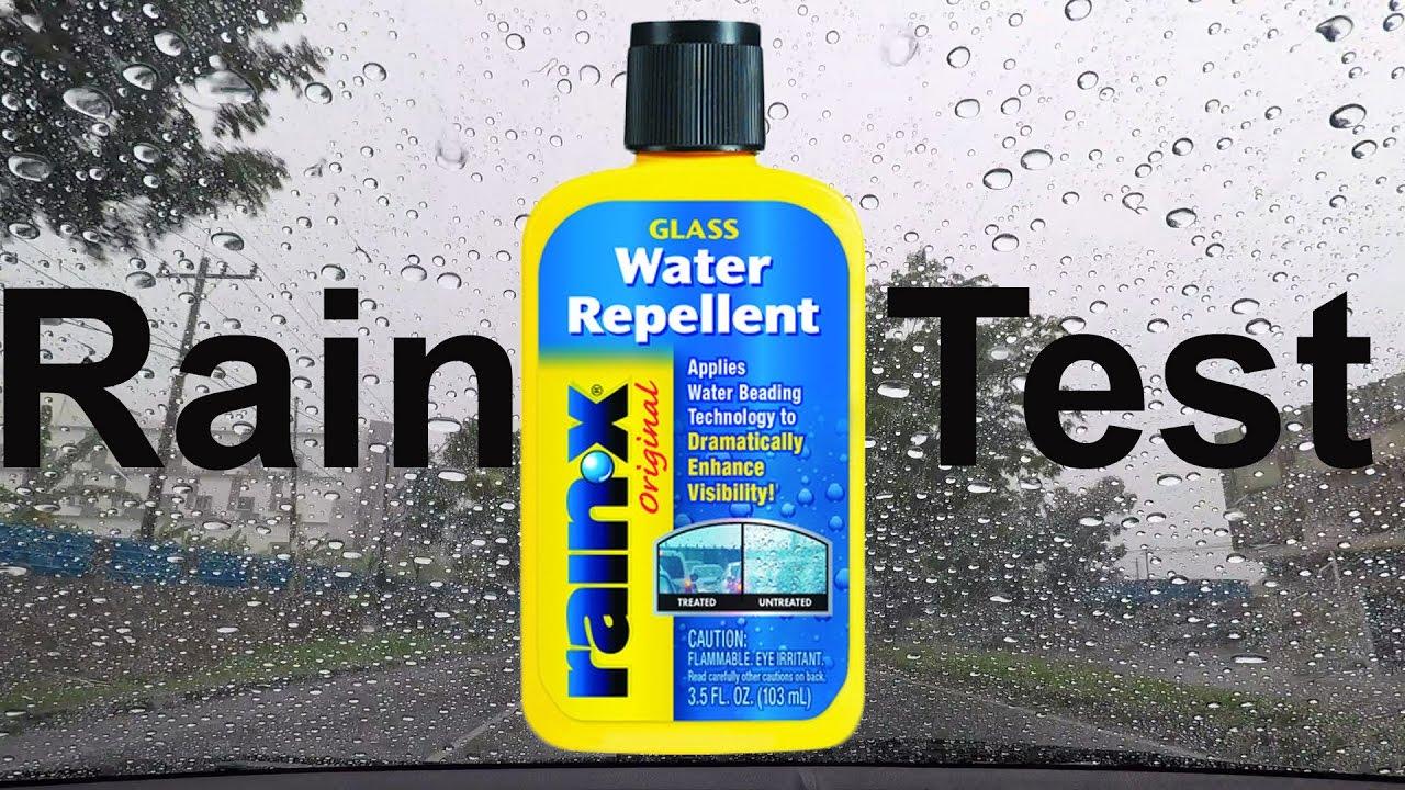 Windshield Rain Repellent : Rain x Review