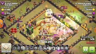 Valk saved themselves from giant bomb | viral | funny video | clash of clans | coc