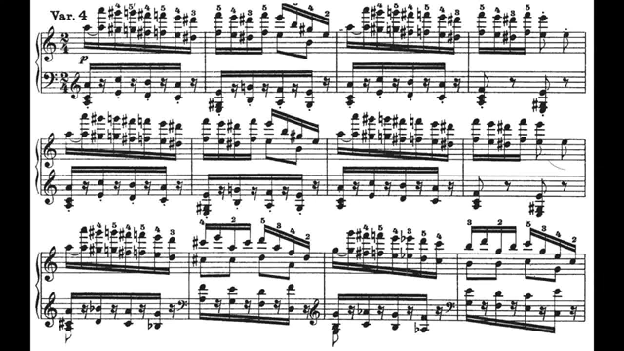 パガニーニ大練習曲第6番