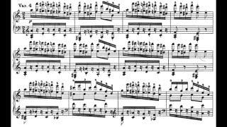 リスト:「パガニーニ大練習曲」より第6曲「主題と変奏」