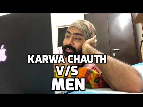 Karwa Chauth v/s Men   Harshdeep Ahuja - YouTube
