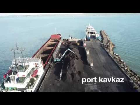 South Sea Trade Terminal, port Kavkaz - June, 2018