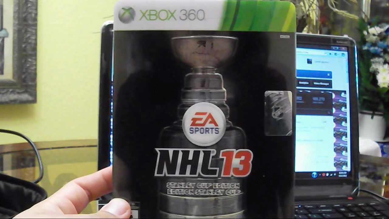 Nhl 13 (stanley cup collector's edition) xbox 360 playandcollect.
