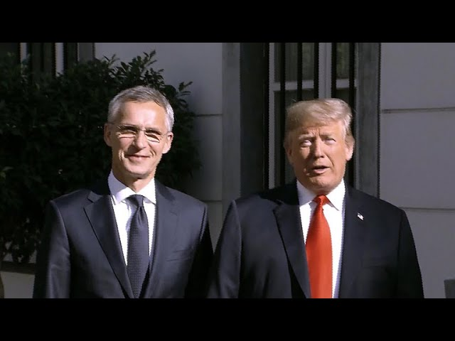 Trump criticizes Germany and other European allies at NATO summit