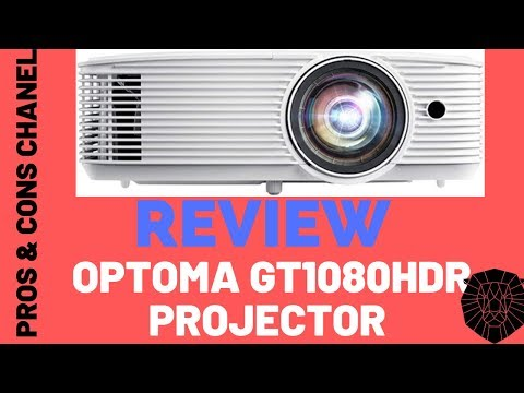 Optoma GT1080HDR Short Throw Gaming Projector  Review
