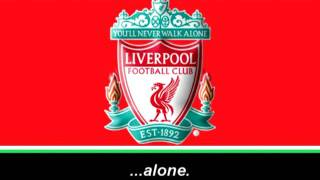 Gambar cover Liverpool F.C Anthem (Lyrics) - Himno de Liverpool (Letra)