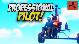 BECOMING A PROFESSIONAL PILOT! - Rust Solo