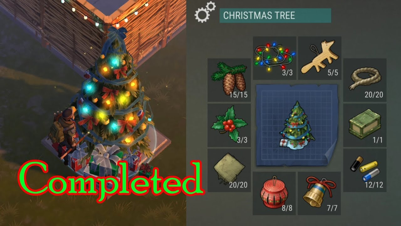 Watch If You Want To Complete The Christmas Tree In Last Day On