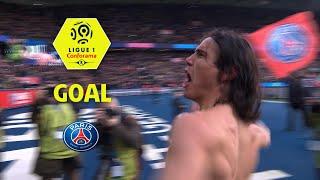 Goal Edinson CAVANI (11') / Paris Saint-Germain - Montpellier Hérault SC (4-0) / 2017-18