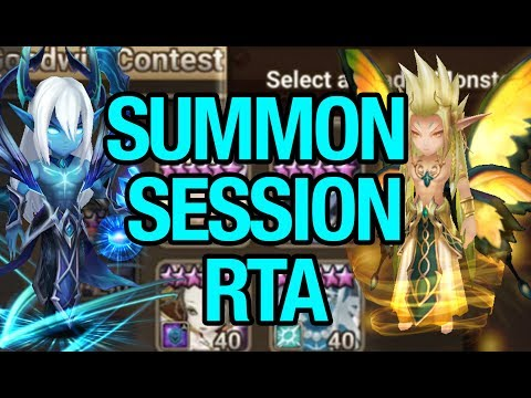 [Summoners War] Stream : Nouveaux Runages/  Summon Session / RTA vs Viewers