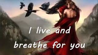 To Love Somebody By Michael Bolton Lyrics On Screen