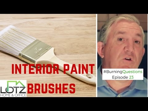 Interior Painting Brushes Tips Video | Naperville Painting Contractor