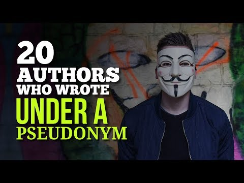 Authors Who Wrote Under a Pseudonym - Know Who They Are and Why They Did It