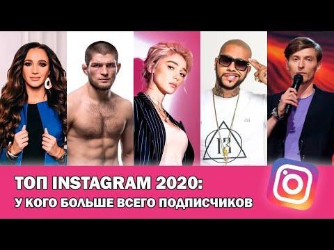 ТОП Instagram 2020: У кого больше всего подписчиков в Инстаграме