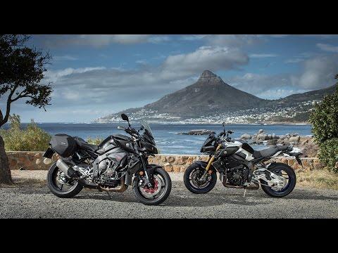 2017 Yamaha MT-10 SP et TOURER Edition