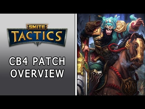 Smite: Tactics | CB4 Patch Overview | Huge God Changes!