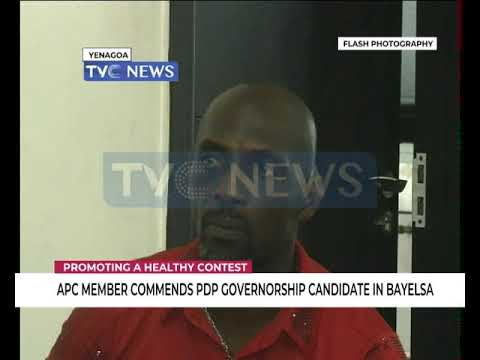 Bayelsa 2019: PDP Governorship candidate interacts with APC member