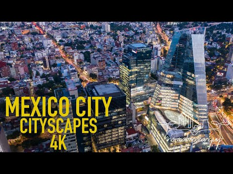MEXICO CITY: CITYSCAPES 4K