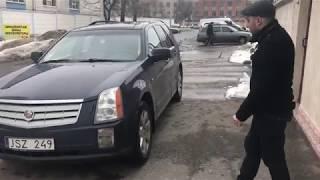 Продаётся Cadillac SRX 2007 год 5000 долл. на литовской регистрации